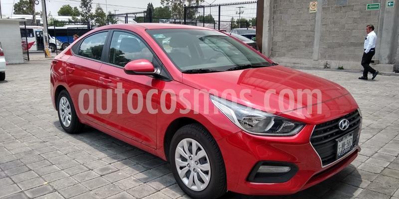 Hyundai Accent GL Aut usado (2020) color Rojo precio $219,375