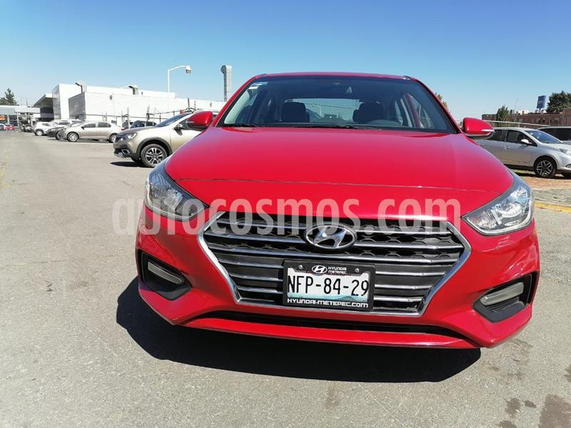 Hyundai Accent GLS Aut usado (2018) color Rojo precio $239,000