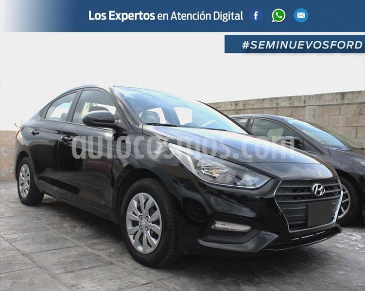 Hyundai Accent GL TM usado (2018) color Negro precio $198,000