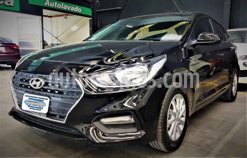 Hyundai Accent HB GL Mid usado (2020) color Negro precio $243,999
