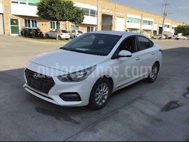 Hyundai Accent 5p GL Mid GL L4/1.6 Man usado (2020) color Blanco precio $117,000