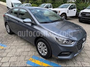 Hyundai Accent GL TM usado (2018) color Gris precio $229,000