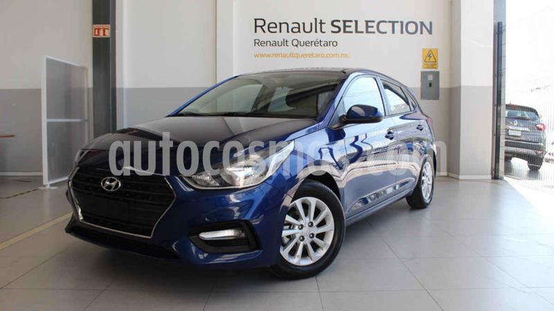 Foto Hyundai Accent GL Mid usado (2018) color Azul precio $205,000