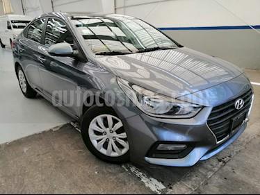 Hyundai Accent GL usado (2019) color Gris precio $209,000