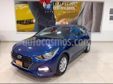 Foto Hyundai Accent 4p GL Mid L4/1.6 Aut usado (2018) color Azul precio $233,900