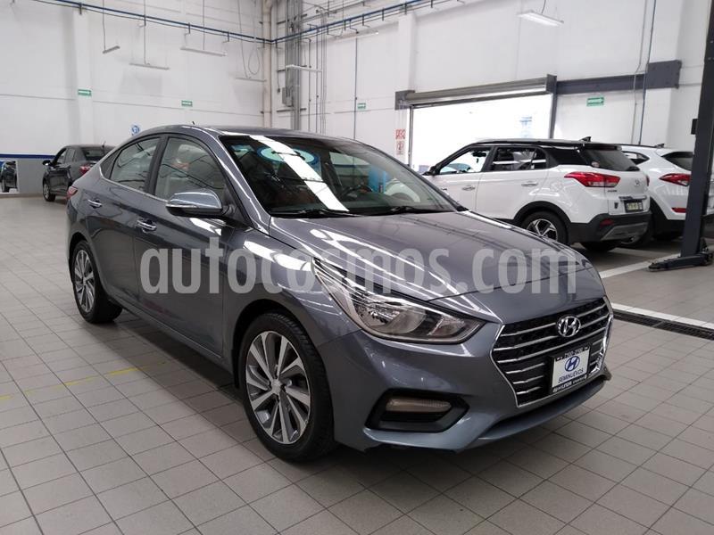 Hyundai Accent GLS Aut usado (2018) color Gris Oscuro precio $235,000