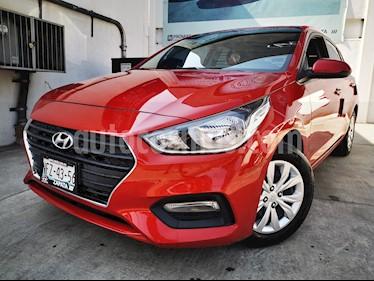 Hyundai Accent GLS Aut usado (2018) color Rojo precio $220,000