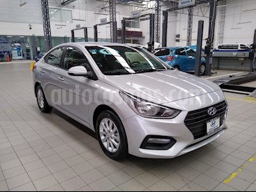 Hyundai Accent GL Mid usado (2019) color Plata precio $215,000