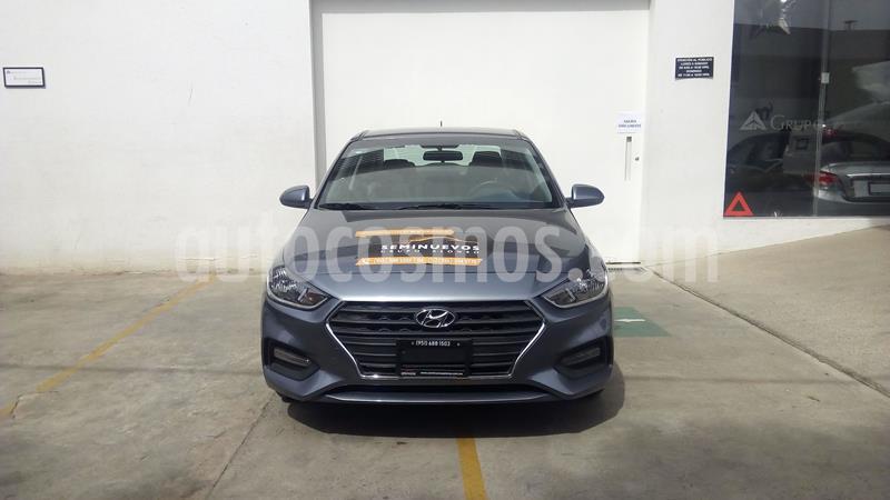 Hyundai Accent GL Mid Aut usado (2019) color Gris precio $219,000