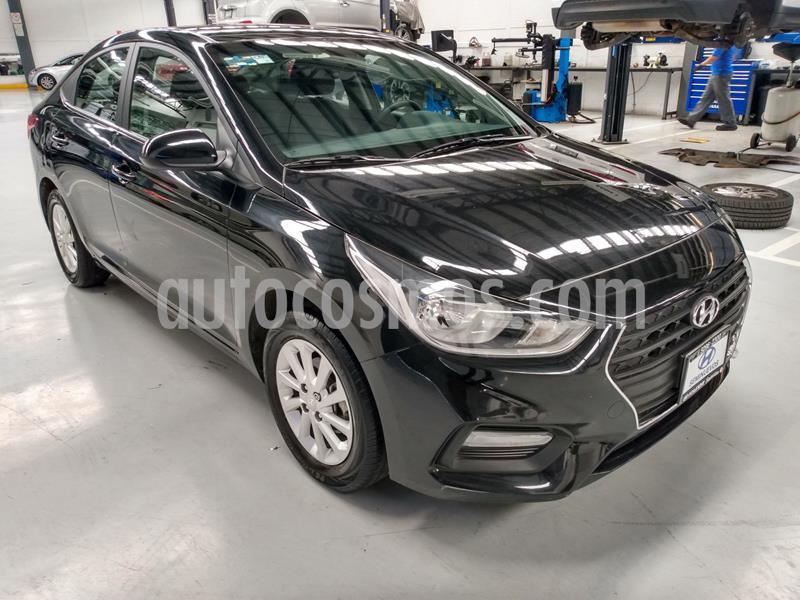 Hyundai Accent GL Mid Aut usado (2019) color Negro precio $225,000