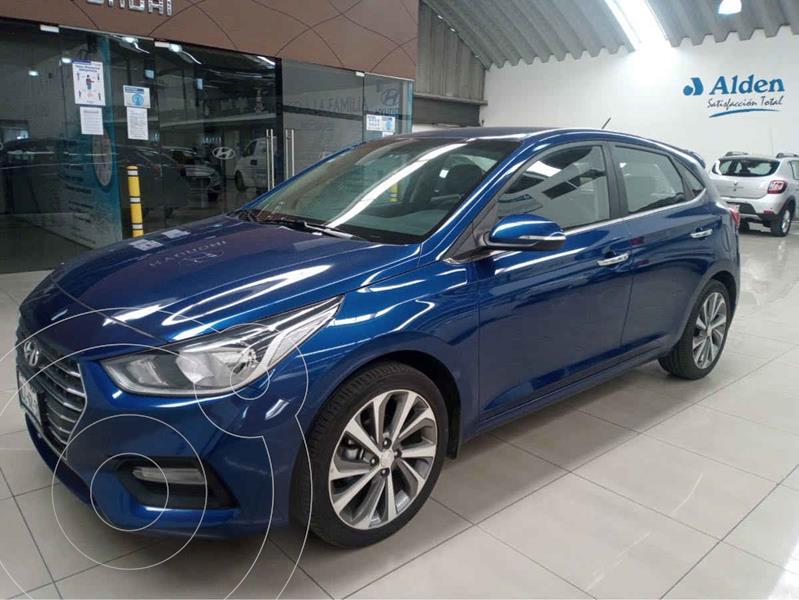 Foto Hyundai Accent HB GLS Aut usado (2018) color Azul precio $250,000