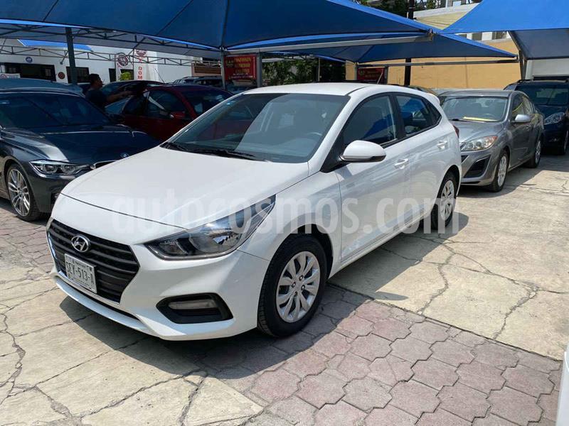 Hyundai Accent HB GL Mid Aut usado (2019) color Blanco precio $239,900