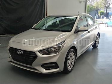 Hyundai Accent GL usado (2018) color Plata precio $192,000