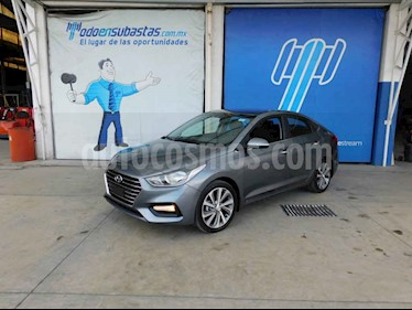 Hyundai Accent HB GLS Aut usado (2020) color Gris precio $218,000