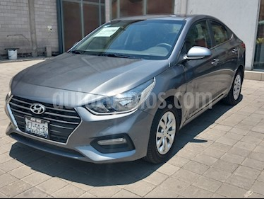 Foto Hyundai Accent GL Aut usado (2018) color Gris precio $220,000