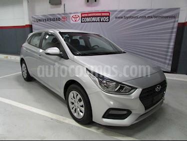 Hyundai Accent HB GL Aut usado (2019) color Plata precio $245,000