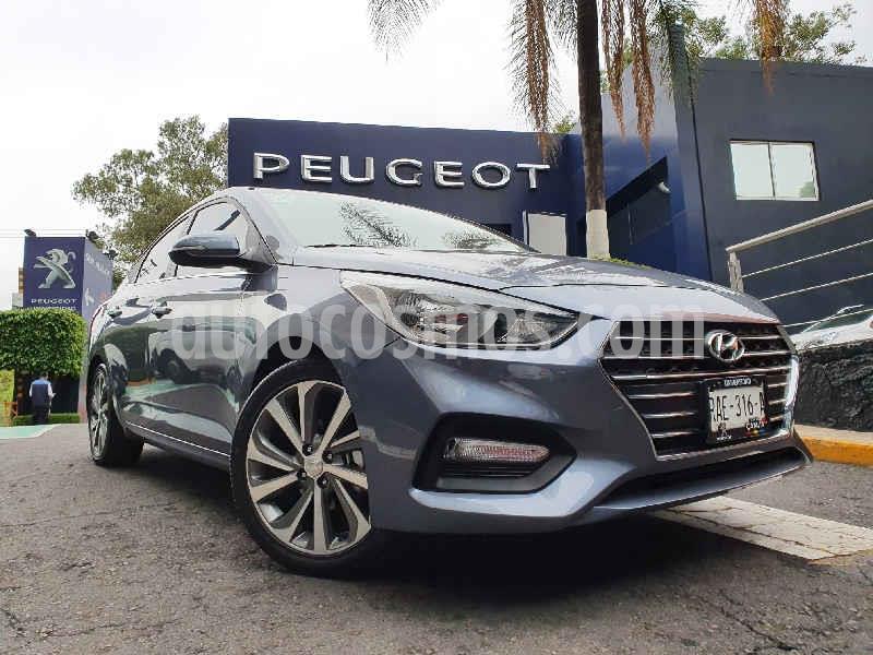 Hyundai Accent GLS Aut usado (2020) color Gris precio $266,900
