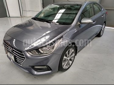 Hyundai Accent 4P GLS 1.6L TA A/AC AUT. VE PIEL RA-17 usado (2018) color Gris precio $245,000