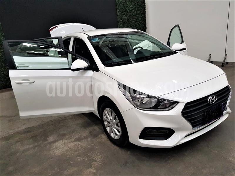 Hyundai Accent GL Mid usado (2020) color Blanco precio $224,999