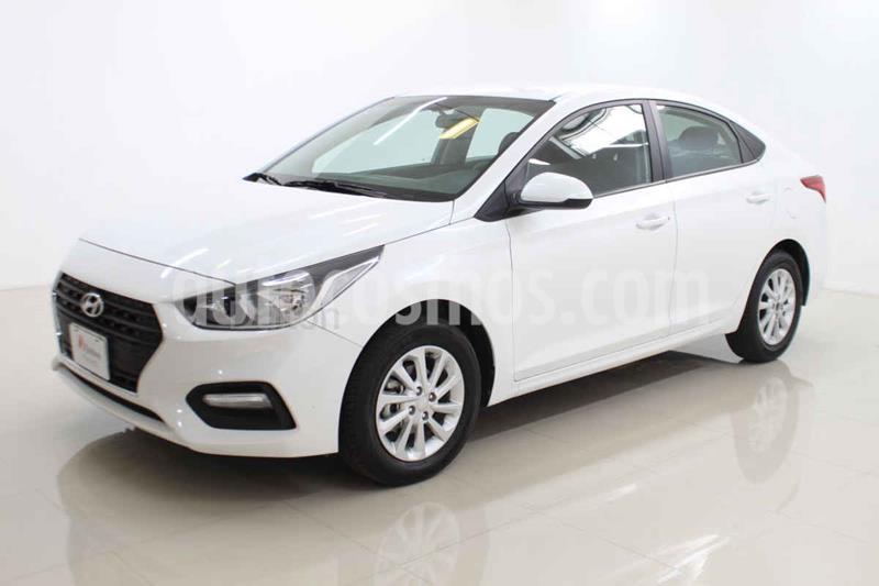 Hyundai Accent GL Mid usado (2020) color Blanco precio $219,000