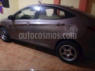 Hyundai Accent 1.4L GL Basico usado (2011) color Bronce precio u$s5,500