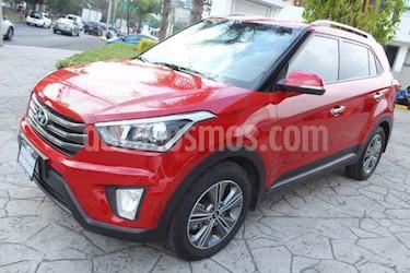 Hyundai Creta 4p GLS Premium L4/1.6 Aut usado (2017) color Rojo precio $245,000