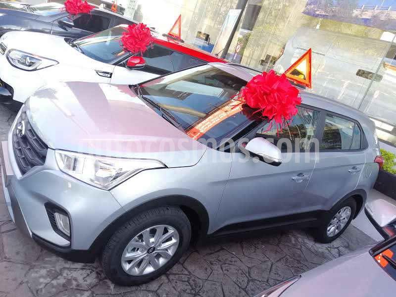 Hyundai Creta GLS Aut usado (2020) color Plata precio $322,900