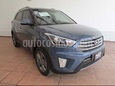 Hyundai Creta GLS Premium Aut usado (2018) color Azul precio $260,000