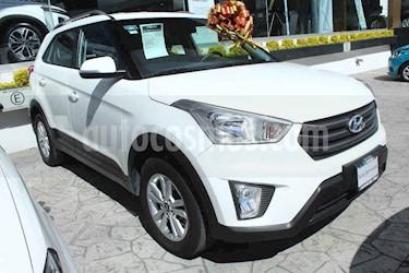 Hyundai Creta 4p GLS L4/1.6 Aut usado (2018) color Blanco precio $258,000