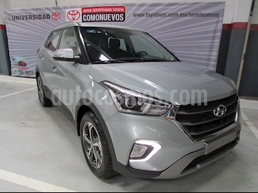 Hyundai Creta Limited Aut usado (2019) color Plata precio $375,000