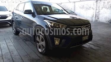 Hyundai Creta 5P GLS PREMIUM 1.6L TA F. LED RA-17 usado (2017) color Azul precio $255,000