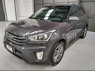 Hyundai Creta 4P GLS PREMIUM L4/1.6 AUT usado (2018) color Gris precio $310,000
