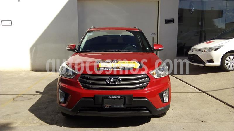 Hyundai Creta GLS Aut usado (2018) color Rojo precio $265,000