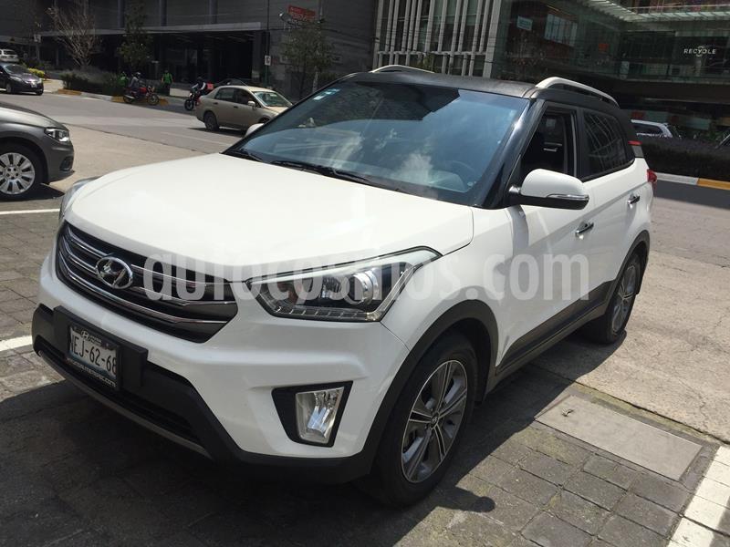 Hyundai Creta Limited Aut usado (2017) color Blanco precio $214,000