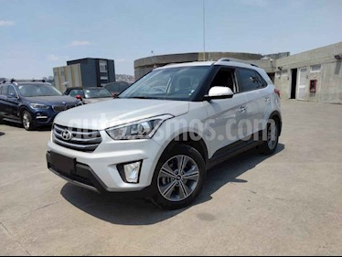 Hyundai Creta 4p GLS Premium L4/1.6 Aut usado (2018) color Plata precio $250,000