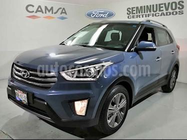 Hyundai Creta 4p GLS Premium L4/1.6 Aut usado (2017) color Azul precio $244,900
