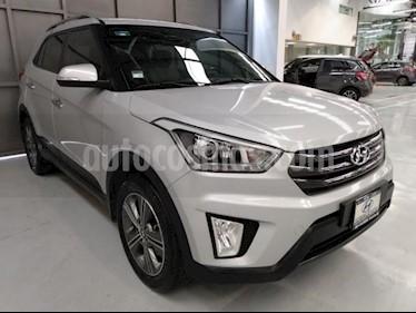 Hyundai Creta 5P LIMITED 1.6L TA PIEL F. LED RA-17 usado (2017) color Plata precio $249,000