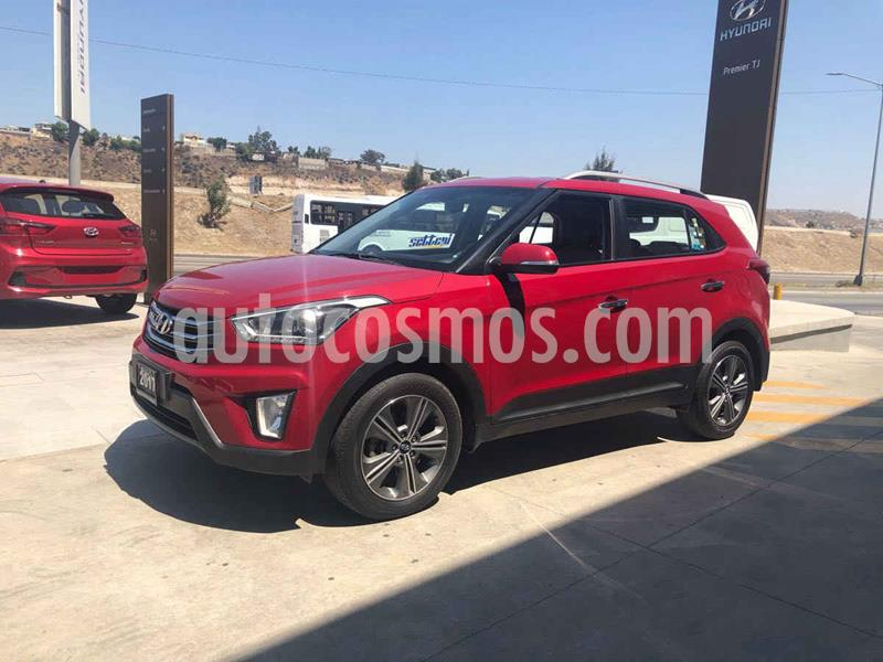 Hyundai Creta Limited Aut usado (2017) color Rojo precio $259,000