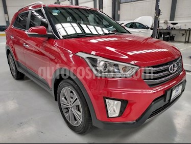 Hyundai Creta 5P LIMITED 1.6L TA PIEL F. LED RA-17 usado (2018) color Rojo precio $278,000