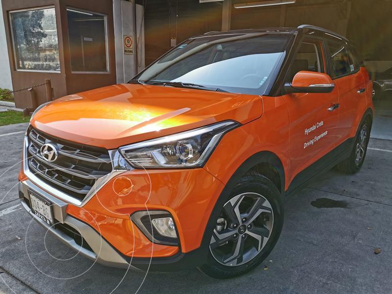 Hyundai Creta Limited usado (2020) color Naranja precio $365,000