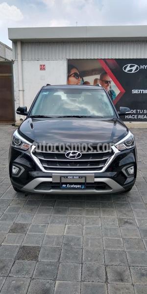 Hyundai Creta Limited Aut usado (2020) color Negro precio $397,600
