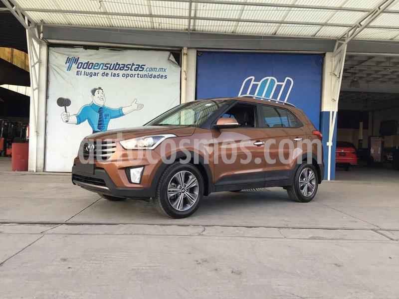 Hyundai Creta Limited Aut usado (2018) color Cafe precio $162,000