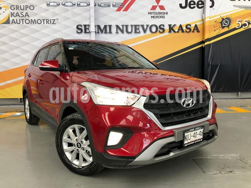 Hyundai Creta GLS Aut usado (2020) color Rojo precio $299,000