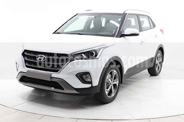 Hyundai Creta 5p GLS Premium TA usado (2020) color Blanco precio $349,000