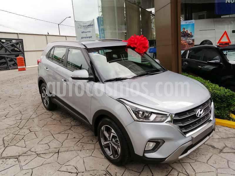 Hyundai Creta Limited Aut usado (2020) color Plata precio $372,800