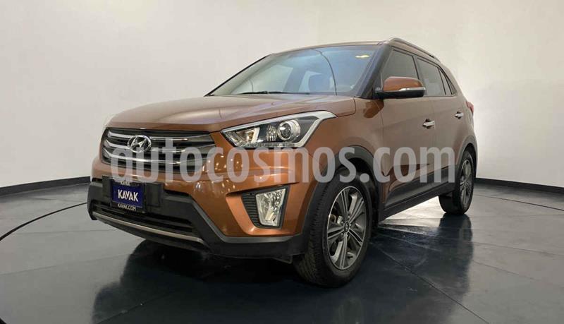 Hyundai Creta Limited Aut usado (2018) color Naranja precio $302,999