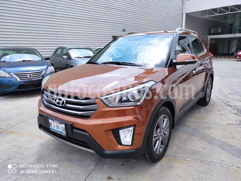 Hyundai Creta GLS Premium Aut usado (2018) color Cafe precio $269,000