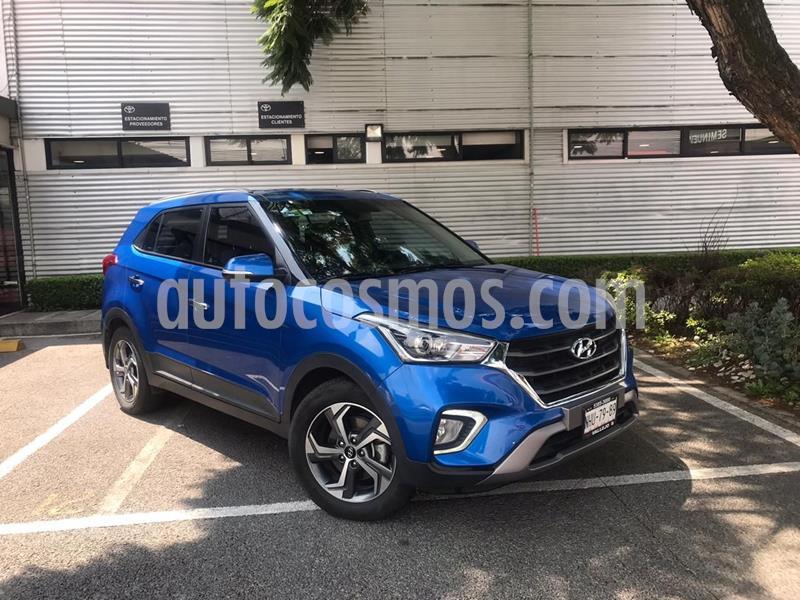 Hyundai Creta GLS Premium Aut usado (2019) color Azul precio $310,000