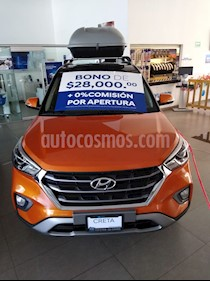 Hyundai Creta GLS Premium Aut usado (2020) color Naranja precio $405,800