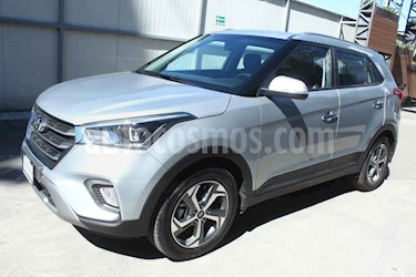 Hyundai Creta 4p Limited L4/1.6 Aut usado (2019) color Plata precio $372,000